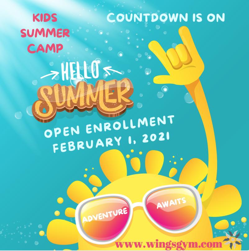 Kids Summer Camp Open Enrollment Coming