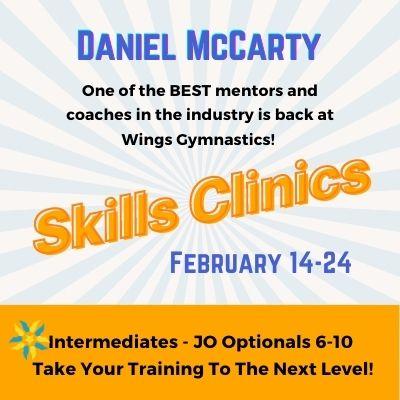 Daniel McCarty Hosts Skills Clinics
