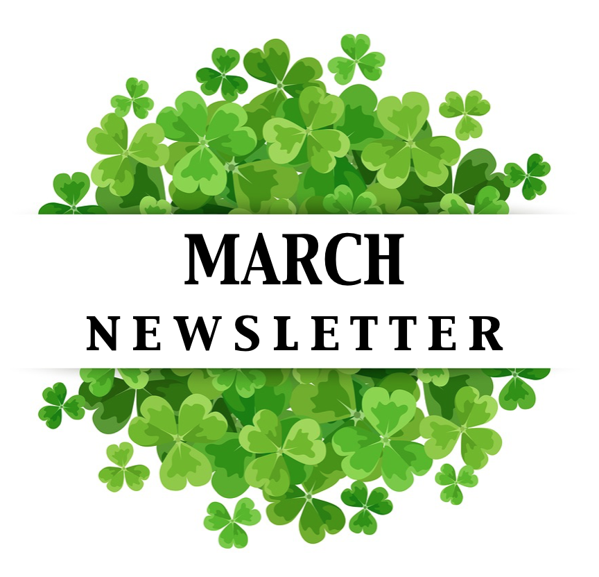 March Newsletter & Calendar